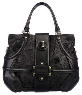 Alexander McQueen Leather Novak Bag
