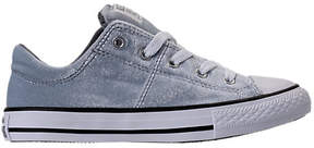 Converse Girls' Preschool Chuck Taylor Madison Ox Velvet Casual Shoes