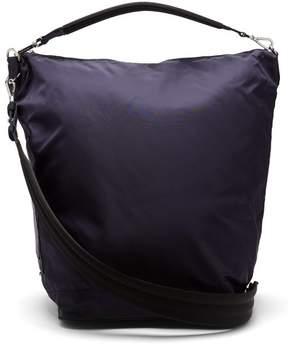 Paco Rabanne Hobo Large Nylon Cross Body Bag - Womens - Navy
