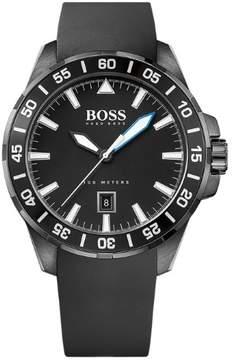 HUGO BOSS Ocean Deep 1513229 Black Analog Quartz Men's Watch