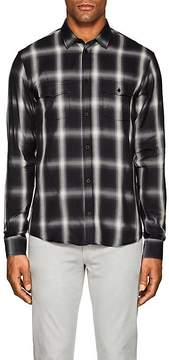 IRO Men's Albion Plaid Cotton-Blend Shirt