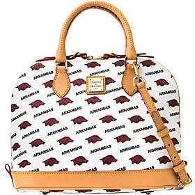Dooney & Bourke NCAA University of ArkansasZip Zip Satchel - ONE COLOR - STYLE