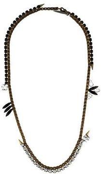 Fallon Crystal Box Chain Necklace