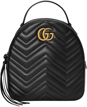 Gucci GG Marmont Quilted Leather Backpack - ONE COLOR - STYLE