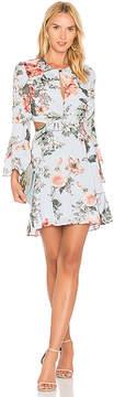 Bardot Floral Frill Dress