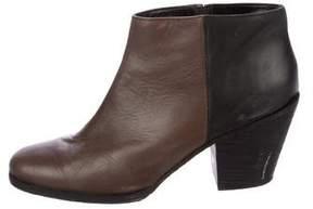 Rachel Comey Colorblock Leather Booties