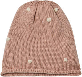 Mini A Ture Rose Smoke Cilia Hat