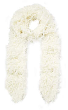 Missoni Faux Shearling Scarf - Ivory