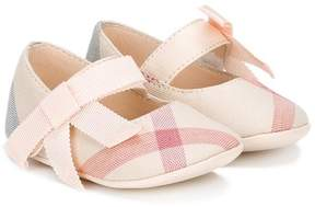 Burberry Classic Check ballerina shoes