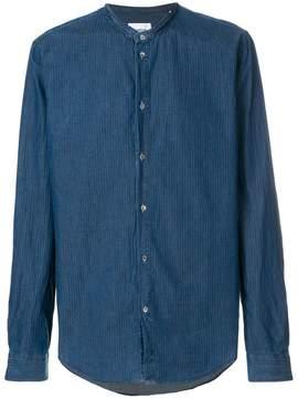 Dondup band collar shirt