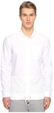 Mostly Heard Rarely Seen Split Button Front Shirt