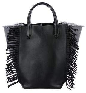 3.1 Phillip Lim Small Fringe Denim Bianca Tote