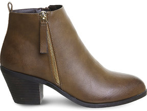 Office Anita side-zip ankle boots