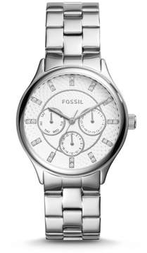 Fossil Modern Sophisticate Multifunction Stainless Steel Watch