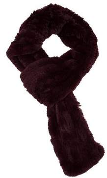 Glamour Puss Glamourpuss Knitted Fur Scarf w/ Tags