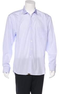 Billy Reid Striped Woven Shirt