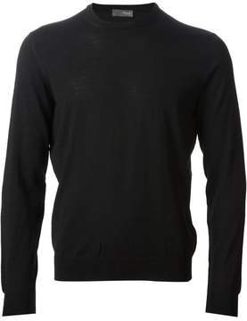 Drumohr round neck knit sweater