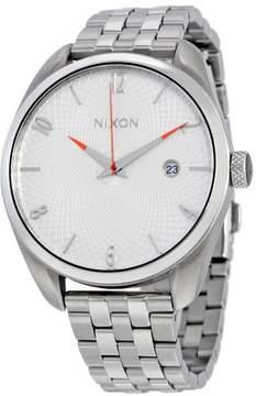 Nixon Bullet White Dial Stainless Steel Ladies Watch A418100