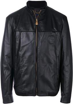 Billionaire ribbed trim jacket