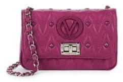 Mario Valentino Noel Leather Crossbody Bag