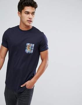 Le Breve Tiger Pocket T-Shirt