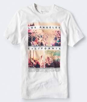 Aeropostale LA Concert Crowd Graphic Tee