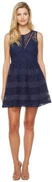 Adelyn Rae Marissa Woven Lace Fit and Flare Women's Dress