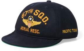 Ralph Lauren Wool-Blend Pilot's Cap