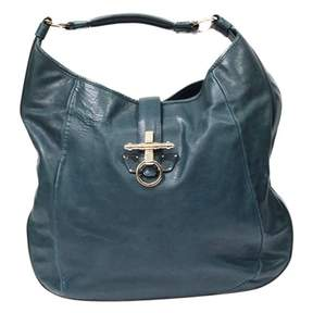 Givenchy Obsedia Blue Leather Handbag