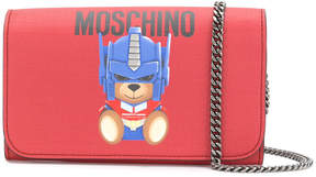 Moschino Transformer Bear chain purse