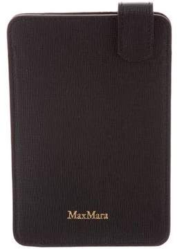 Max Mara Leather Phone Holder