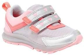 Carter's Infant Girls' Record-G Adjustable Strap Light Up Sneaker