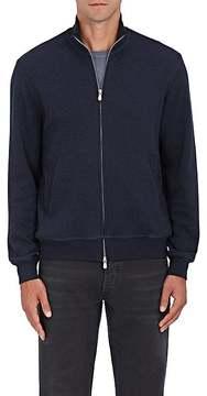 Brunello Cucinelli Men's Cotton-Blend Jersey Zip-Up Jacket