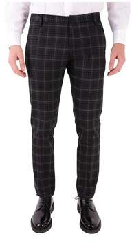 Entre Amis Men's Black Wool Pants.
