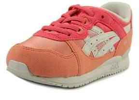 Asics Gel-lyte Iii Ts Toddler Round Toe Suede Orange Sneakers.