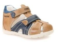 Geox Baby's Kaytan Full Grain Leather Sandals