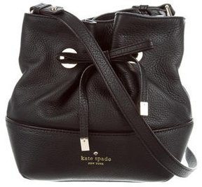 Kate Spade West Valley Valentine Bucket Bag - BLACK - STYLE