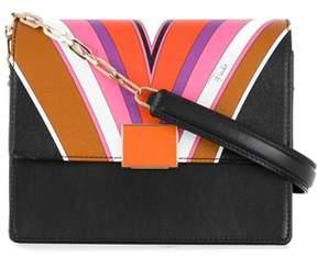 Emilio Pucci Women's Multicolor Pvc Shoulder Bag.