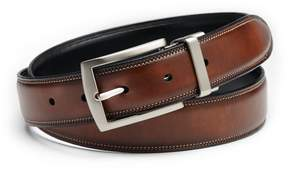 Croft & Barrow Feather-Edge Stitched Reversible Belt - Men