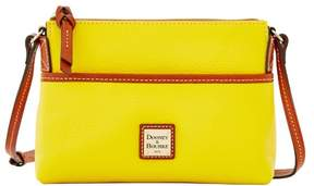 Dooney & Bourke Pebble Grain Ginger Pouchette Shoulder Bag - SUNSET - STYLE