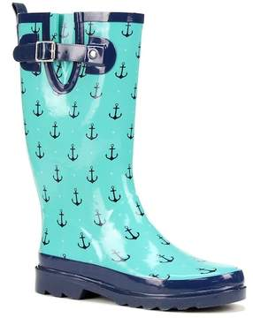 Western Chief Dotty Anchors Rain Boot