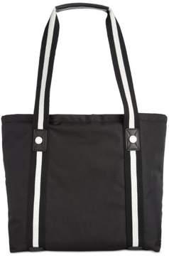 Calvin Klein Dressy Nylon Athleisure Micro Ballistic Tote, Black
