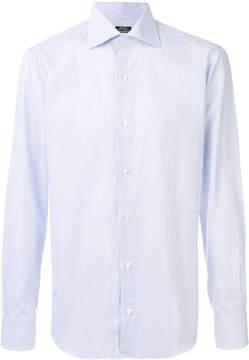 Barba printed classic shirt