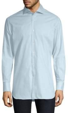 Corneliani Cotton Button-Front Shirt