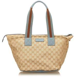 Gucci Pre-owned: Guccissima Jacquard Shoulder Bag. - BROWN X BEIGE X MULTI - STYLE