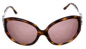 Bvlgari Tortoiseshell Oversize Sunglasses