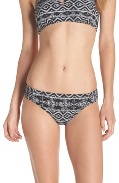 LaBlanca Women's La Blanca Designer Jeans Side Shirred Bikini Bottoms