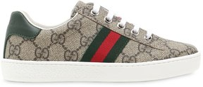 Gucci Gg Supreme Leather Low Sneakers