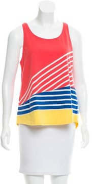Boy By Band Of Outsiders Striped Sleeveless Top