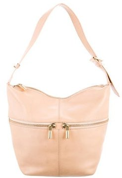 Elizabeth and James Textured Leather Hobo